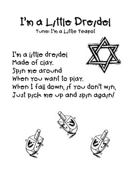 I'm a Little Driedel Song