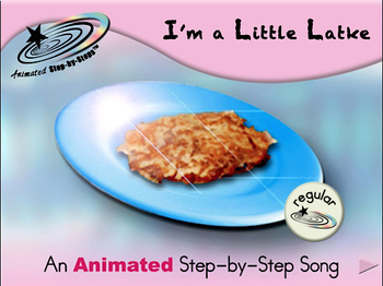 I'm a Little Latke - Animated Step-by-Step Song