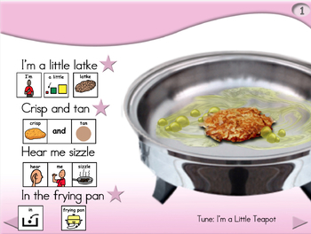 I'm a Little Latke - Animated Step-by-Step Song PCS