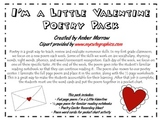 I'm a Little Valentine Poetry Pack