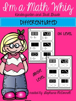 I'm a Math Whiz- Differentiated Addition