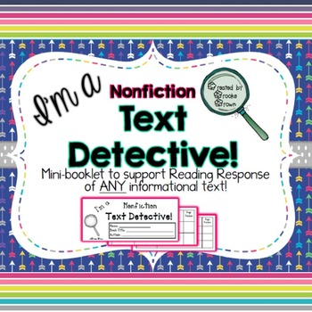 Nonfiction Text Evidence