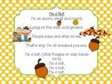 I'm a Nut poem freebie