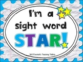 I'm a Sight Word Star!