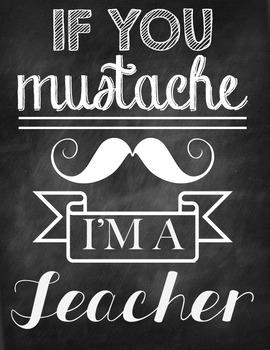 I'm a Teacher - Poster