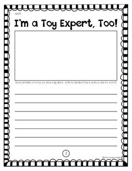 I'm a Toy Expert!  {A Christmas Quick Write}