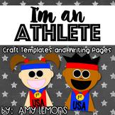 I'm an Athlete Writing Craftivity