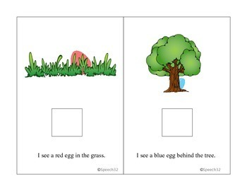 Easter Egg Hunt Interactive book
