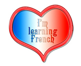 I'm learning french - Clip art