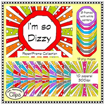I'm so Dizzy Paper/Frame Collection