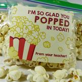 I'm so glad you popped in today! - Movie Themed Popcorn La