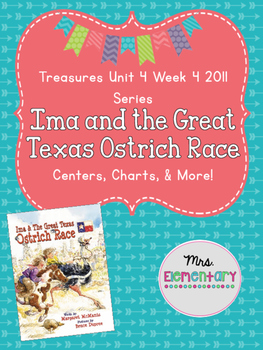 Ima and the Great Texas Ostrich Race