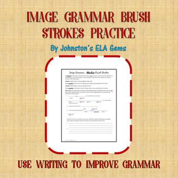 Image Grammar Brush Strokes Practice