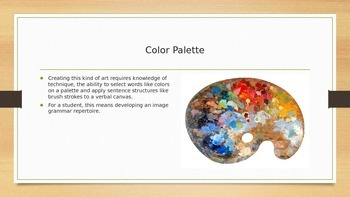Image Grammar: Painting with Five Basic Brush Strokes PowerPoint