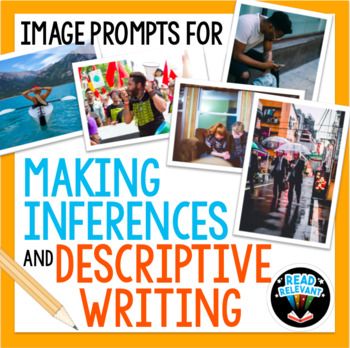 Image Prompts for Making Inferences and Descriptive Writing