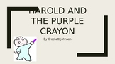 Image Vocabulary for Harold and the Purple Crayon