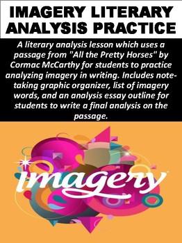 Imagery Literary Analysis Practice