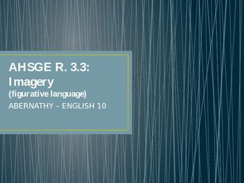 Imagery Mini Lesson PPT