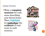 Imagery PowerPoint - Dream House Descriptive Writing