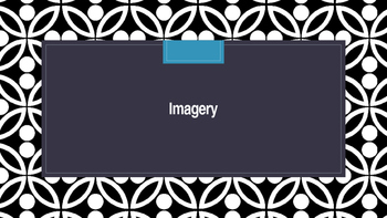 Imagery PowerPoint Grade 5/6 Figurative Language in Language Arts