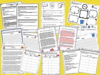 Imagery Resource Bundle: Tools for Teaching Imagery in Writing & Analyzing Texts
