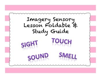 Imagery Sensory Foldable Activity