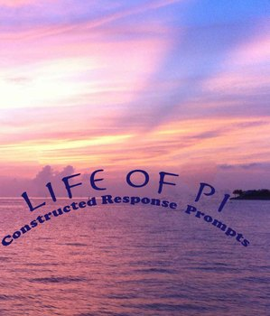 Life of Pi:  Imagery--Constructed Response/Short Essay
