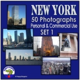 Photos - New York City {Personal and Commercial Use} Set 1 Stock Photos Pack