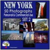 Photos - New York City {Personal and Commercial Use} Set 2 Stock Photos Pack