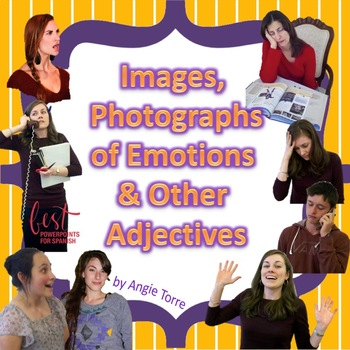 Images, Photographs, Clipart of Feelings and Adjectives