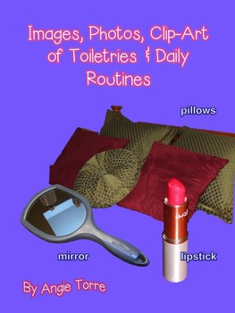 Images, Photos, Clip-Art of Toiletries and Daily Routine