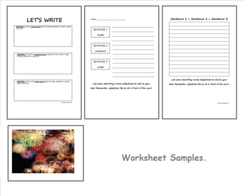 Images and Descriptive Sentence Writing - Year 1 & 2