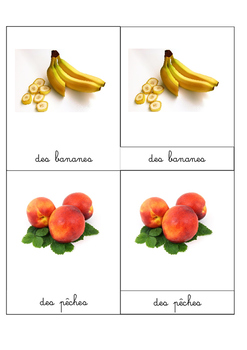 "Images classifiées ""Les fruits"""