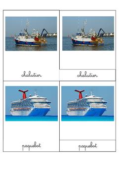 """Images classifiées """"Les véhicules maritimes"""""""