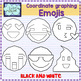 Images for Coordinate Graphing - Emoji Smiley Faces Emoticons Clipart