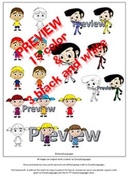 Images: girl, boy, peformer / imagenes: niño, niña, artista