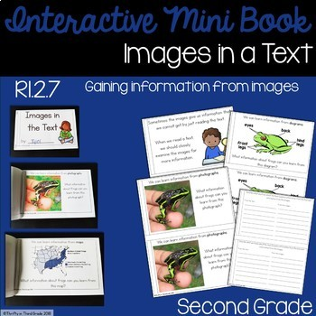 Images in a Text Interactive Mini Book {RI.2.7}