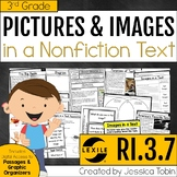Nonfiction Text Features and Images 3rd Grade RI.3.7 with Digital Learning Links