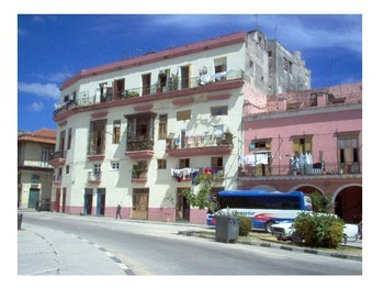 Images of Spanish Colonial architecture in Habana, Cuba.