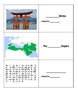 Images of World History Flashcards