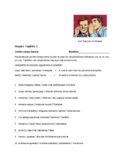 Imagina Chapter 1 Verbs like Faltar - Writing and Speaking ( Distance Version)