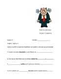 Imagina Chapter 1  Speaking and Writing Activity - Vocabulario en Contexto