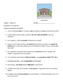 Imagina Chapter 2 Preguntas con Vocabulario # 1