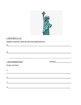 Imagina Chapter 4 Immigration Speaking Activity