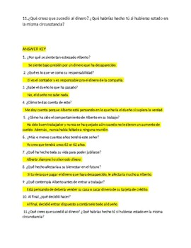 Imagina Chap 7 Reading Comprehension with questions