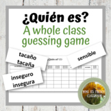 Imagina Lección 1: ¿Quién es? A speaking game using ser, estar and adjectives