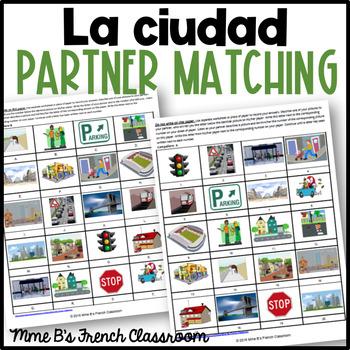 Imagina Lección 2: En la ciudad  Partner matching activity