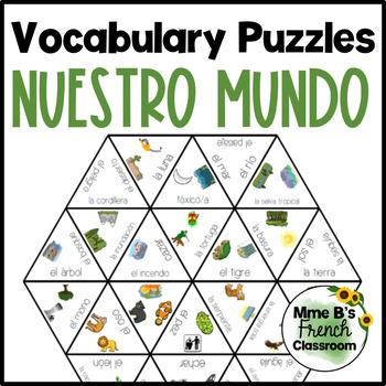 Imagina Lección 5 Vocabulary puzzles: Nuestro Mundo