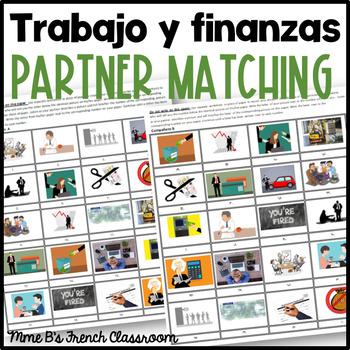 Imagina Lección 7: El trabajo y las finanzas  partner matching activity