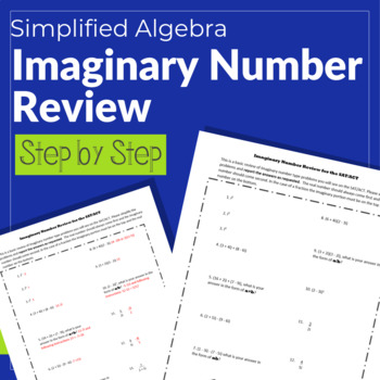 Imaginary Number Review (SAT/ACT)
